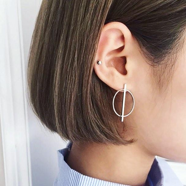 New minimal earrings! Will be online this evening. Just in time for Christmas. 😍 #geometry #geometricjewellery #sacredgeometry #sterlingsilver #earrings #blackfriday