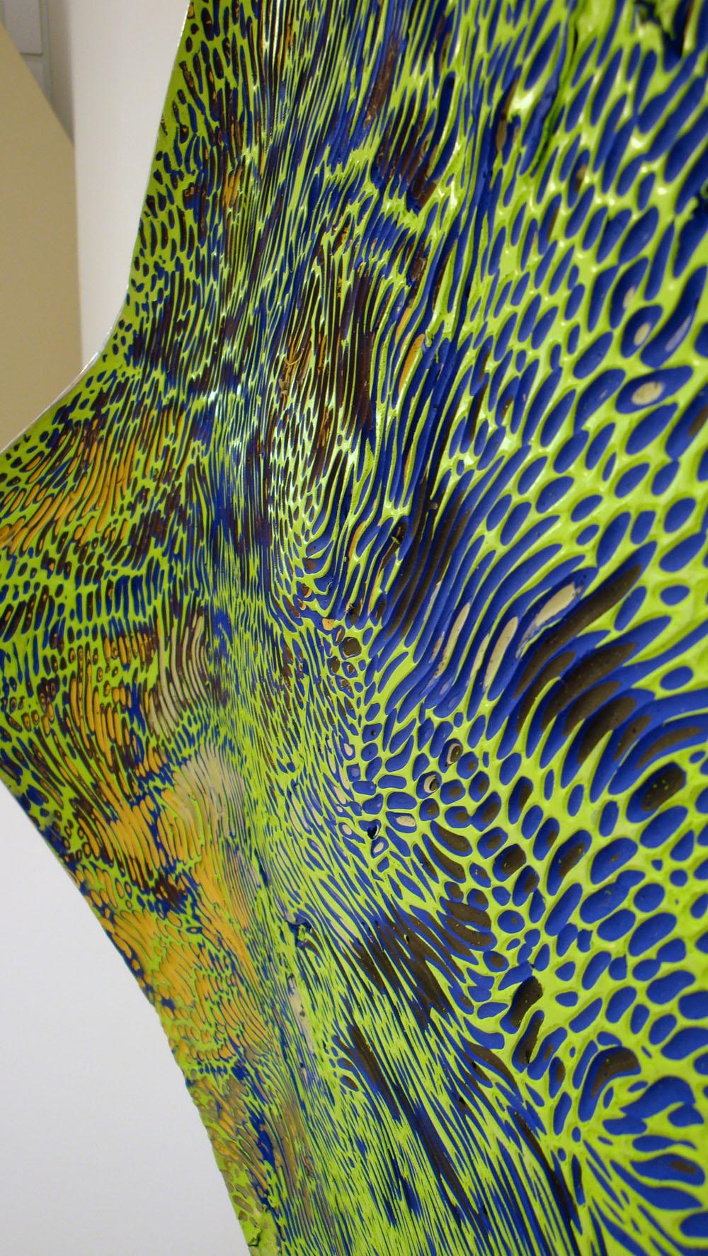 "Battuto Series 2013<br> ""Everglades"" 2013 Bork McColl <br>Image #6 Everglades 2c of 2"