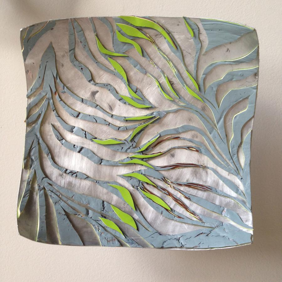 """Battuto"" Series<br>""Palm Tree"" 2013. Aluminum"