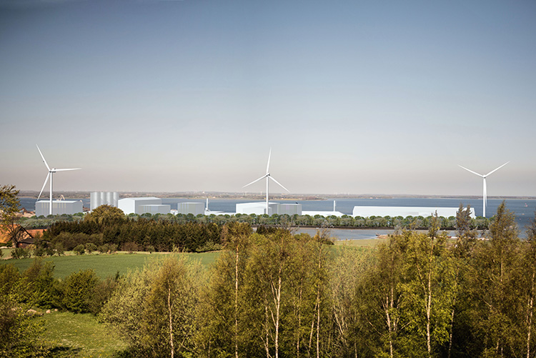 Vindmøller Odense Havn