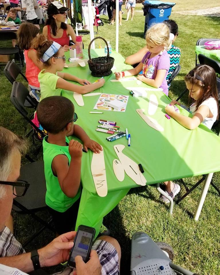 Glider Plane Art! - Visit the Palos Fine Arts booth! September 21st