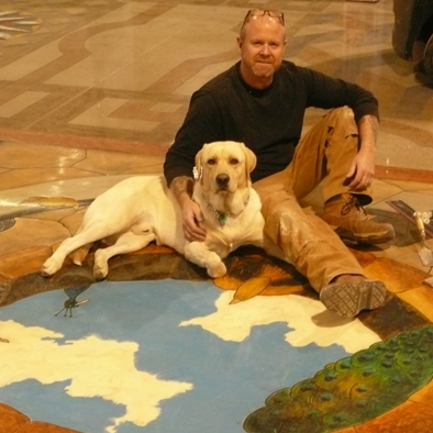 Bob Harris of the Decorative Concrete Institute
