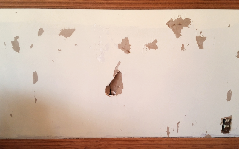 Prevent damage by sizing walls