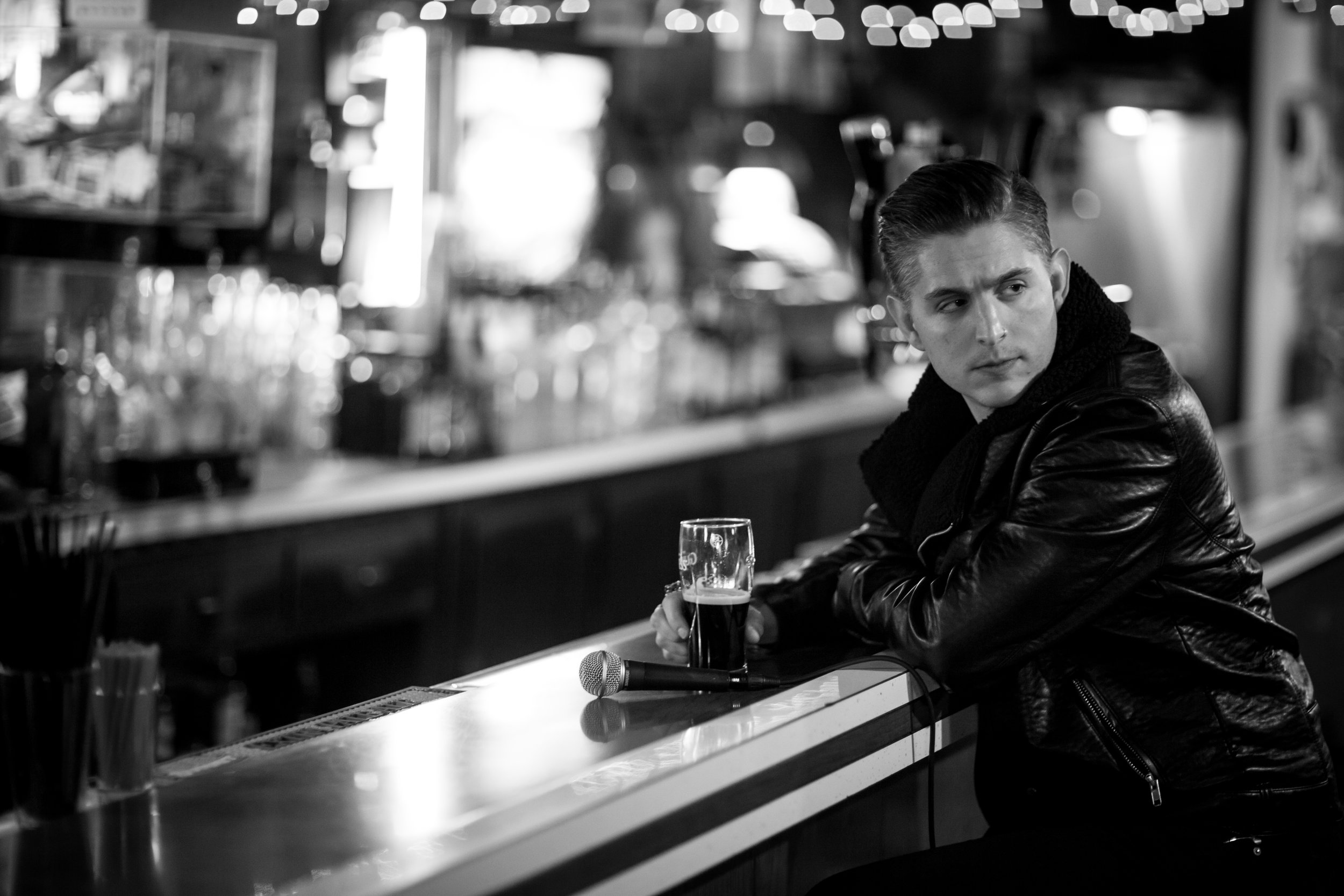 My name's Rob Morgan.I'm an internationally touring bassist and music-director who released a podcast this last year where I sit down with intriguing people over drinks to try and get past WHAT they do to find out WHO they are and WHY they do it. -