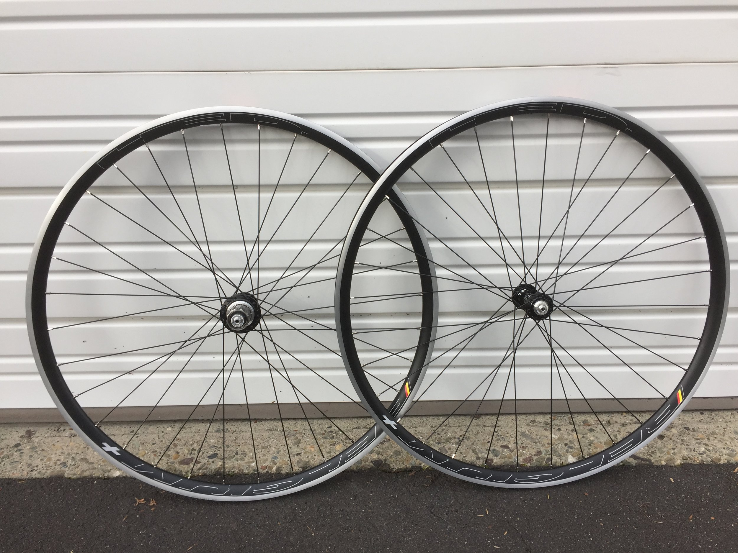 Hed Ardennes Plus Rims and White Industries T11 Hubs