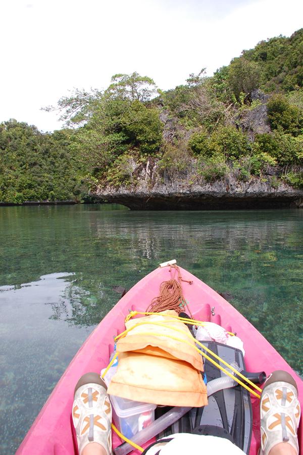 Pink Kayak