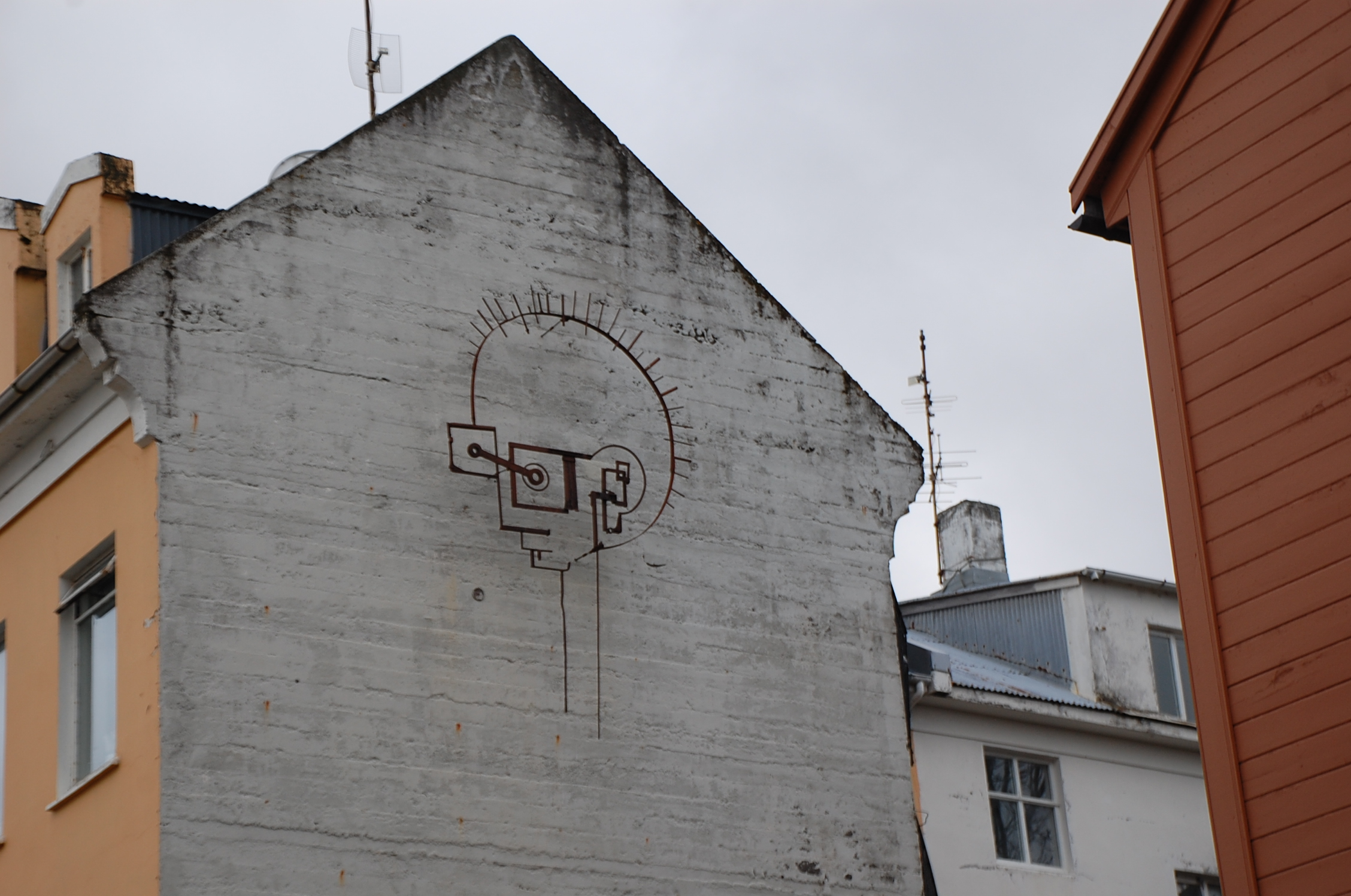 Face of the City, Reykjavik