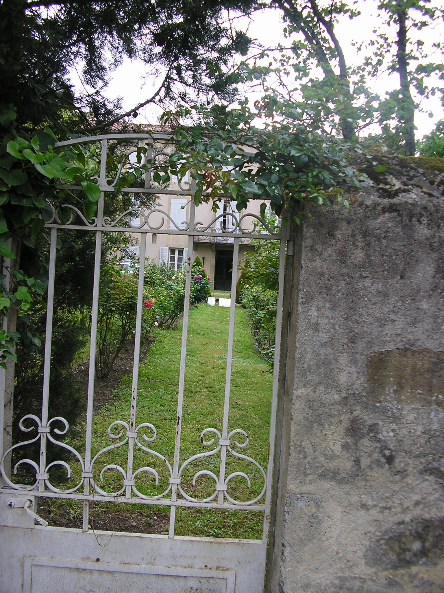 A well tended garden