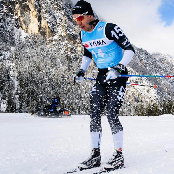 Fredrik Byström i Långloppsvärldscupen Ski Classics. Foto: Magnus Öst.