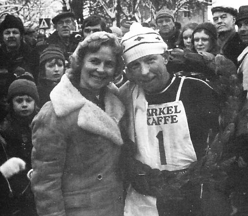 Toini Rönnlund och Magnar Lundemo.