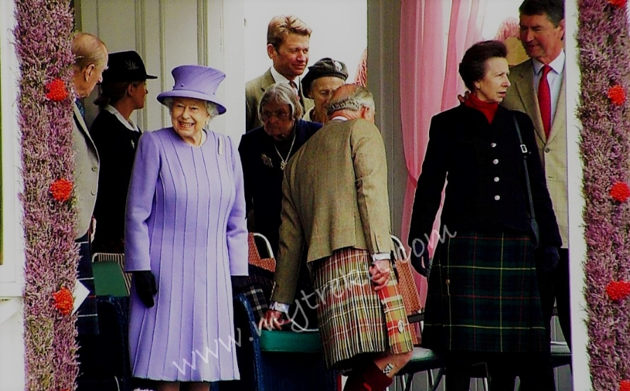 The Royal Family prepares to enjoy another year watching the contests. From Left: HRH Prince Philip, HM the Queen, HRH Prince Charles, and HRH Princess AnnE with husband, Timothy Laurence,