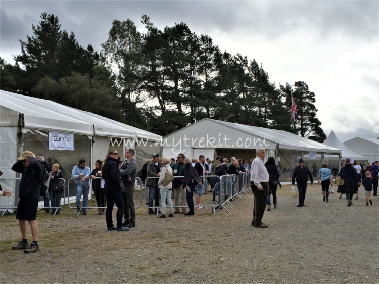 The Beer Tent is always a popular spot.