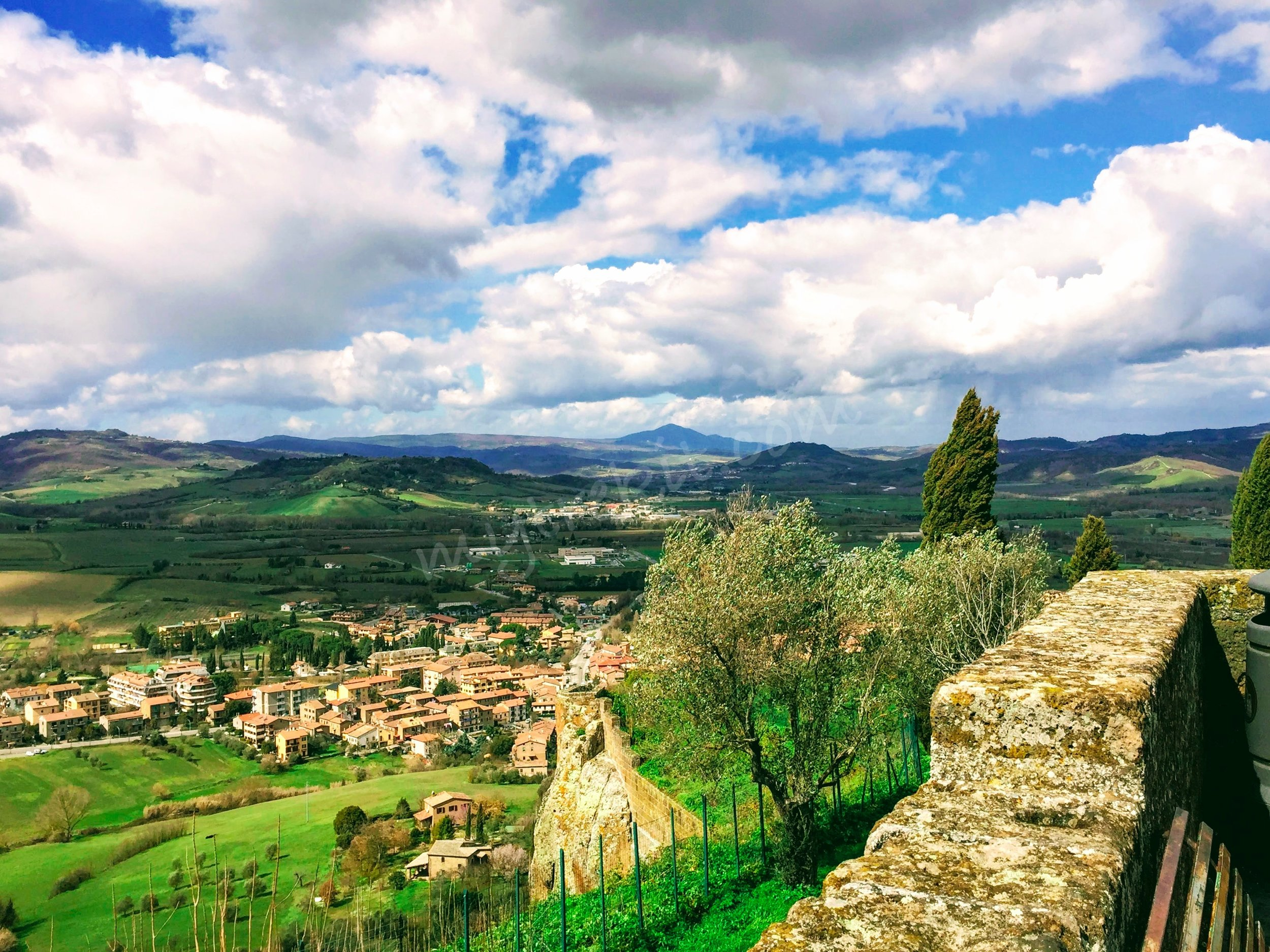 Layers of gorgeous hues paint the landscaped canvas of Umbria.