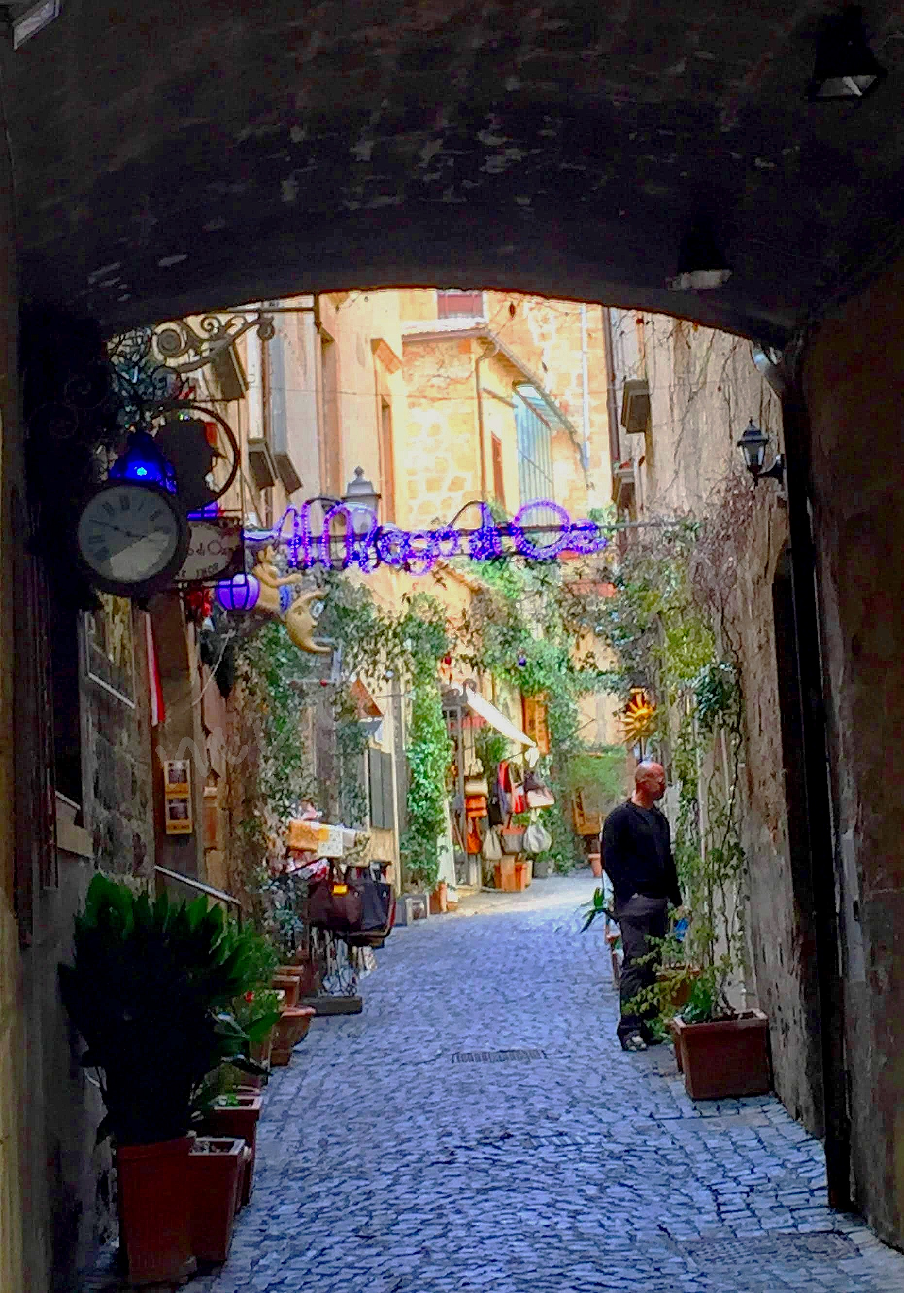 Orvieto offers many side streets to meander through.