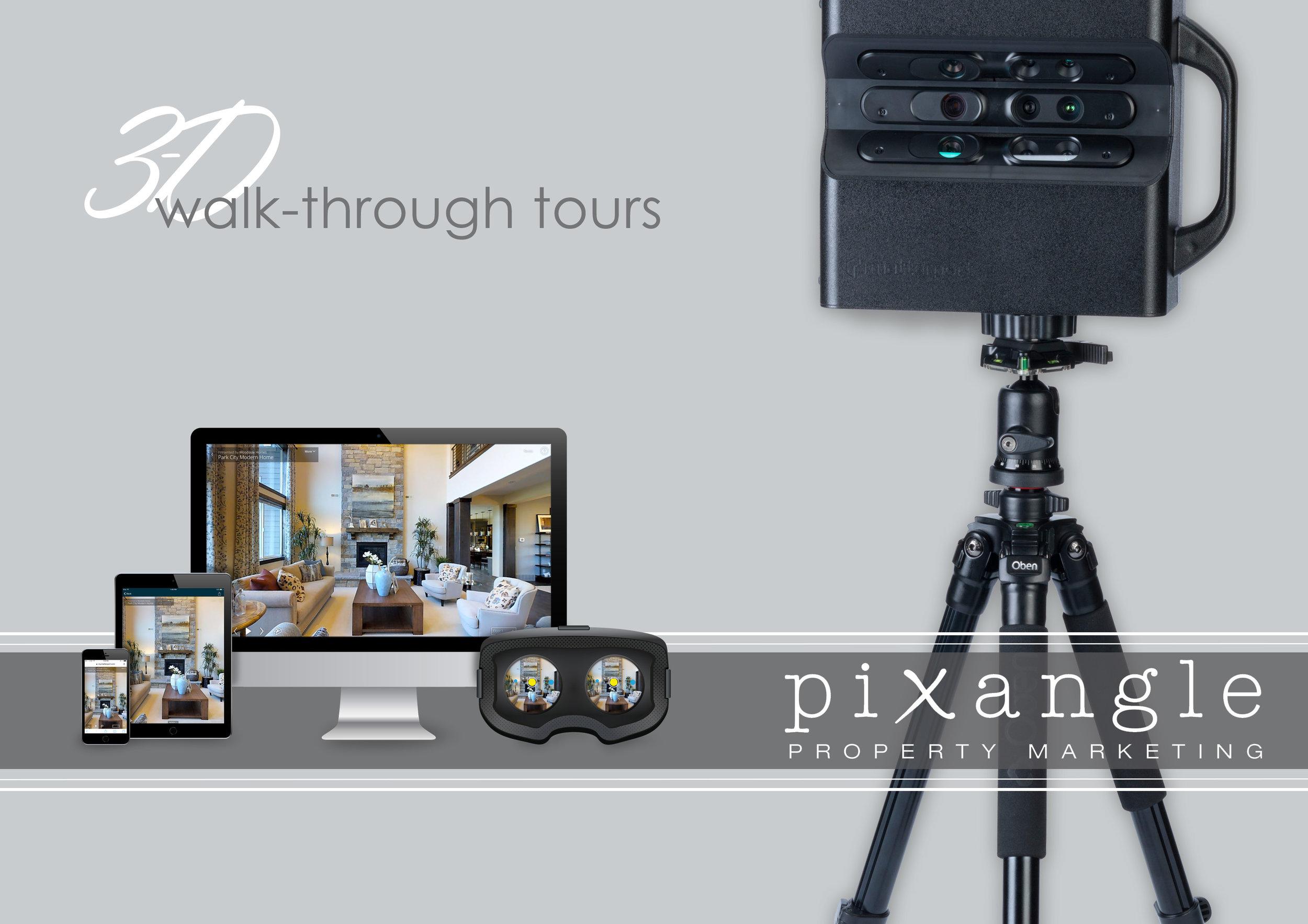 3D walkthrough brochure
