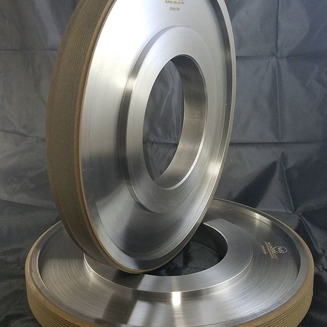 "12"" CBN form thread grinding wheel #CBN #borazon #grindingwheel"