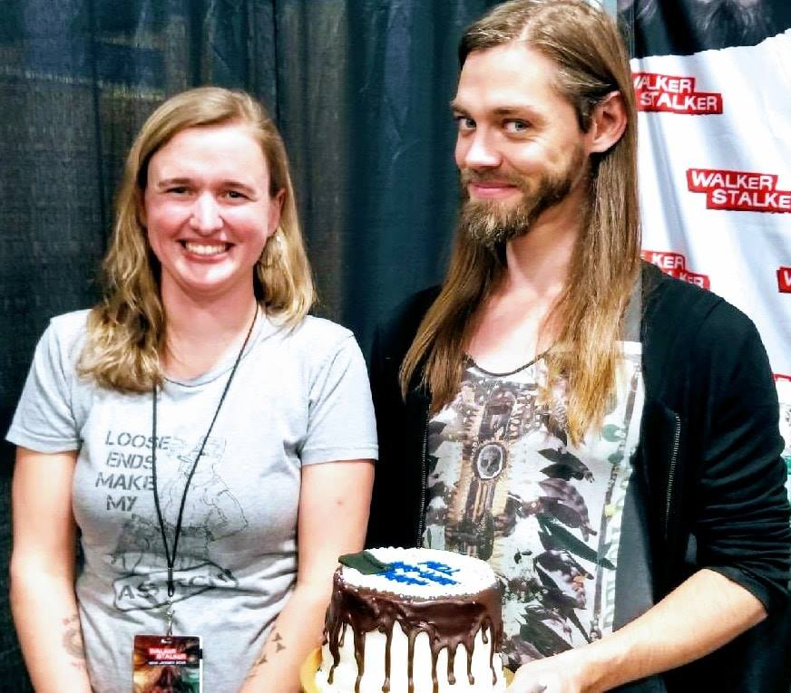 Second year making a birthday cake for Tom Payne i.e. jesus