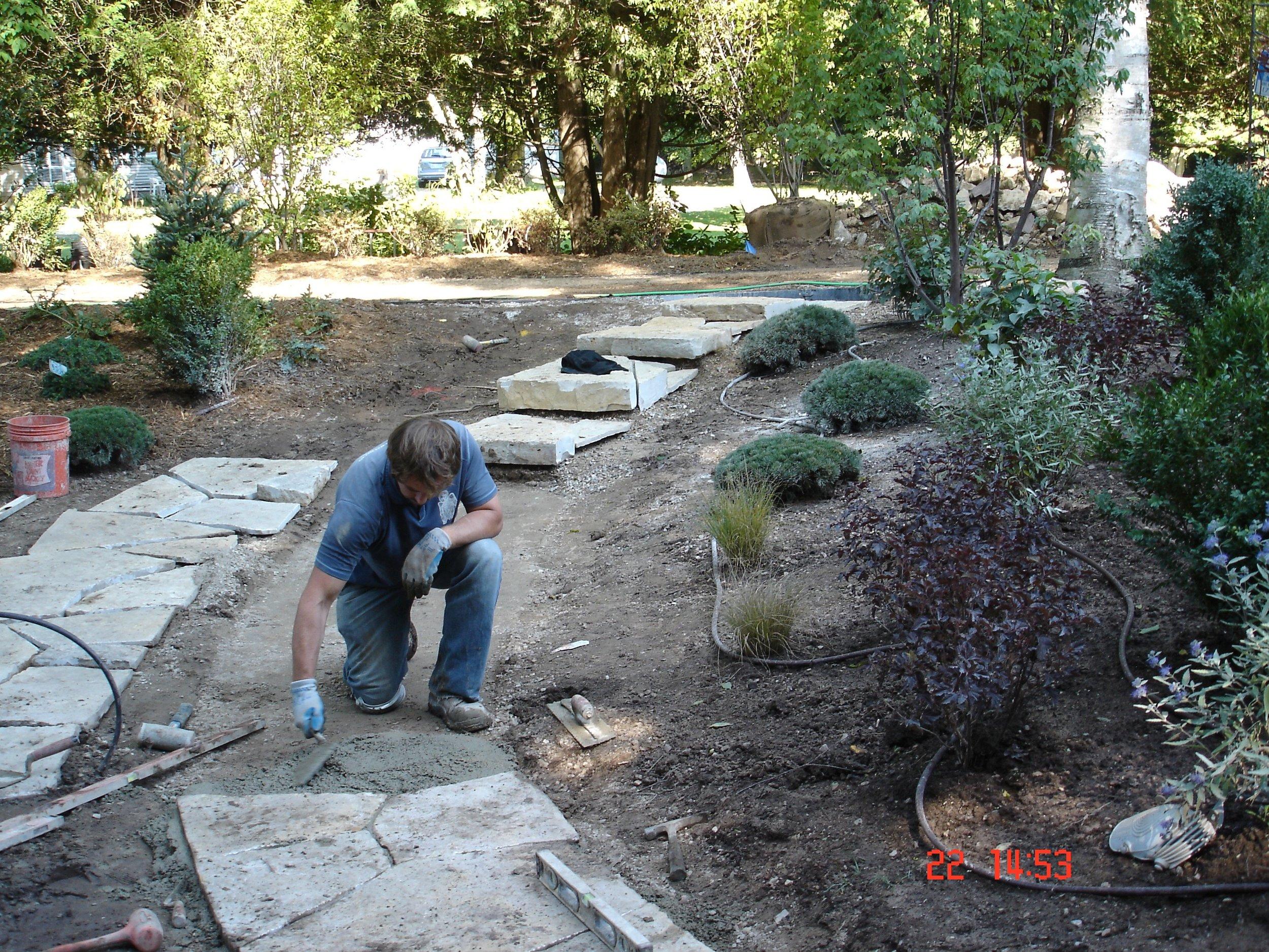 August 2009 Landscaping, week 6 039.jpg