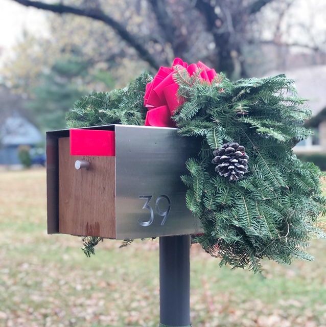 """Deus Mailbox - Does your husband love to get the mail as much as mine? Upgrade that mailbox to something with a little more character.Derek, """"This is the coolest aesthetic thing we've gotten for the house so far."""""""