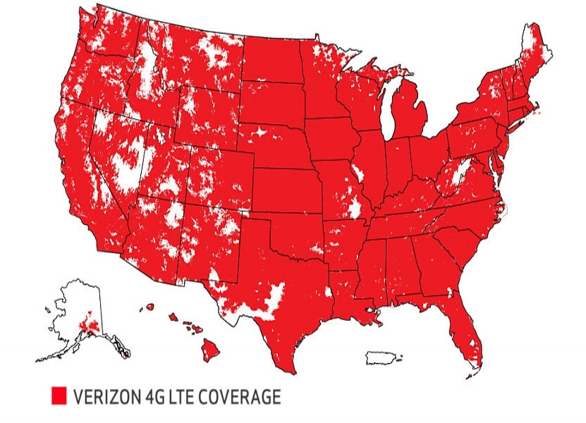 America's largest, most reliable 4G LTE network is available through Hotspot cell -