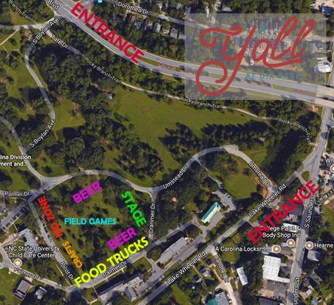 GPS Address: 600 Umstead Dr. Raleigh, NC 27603
