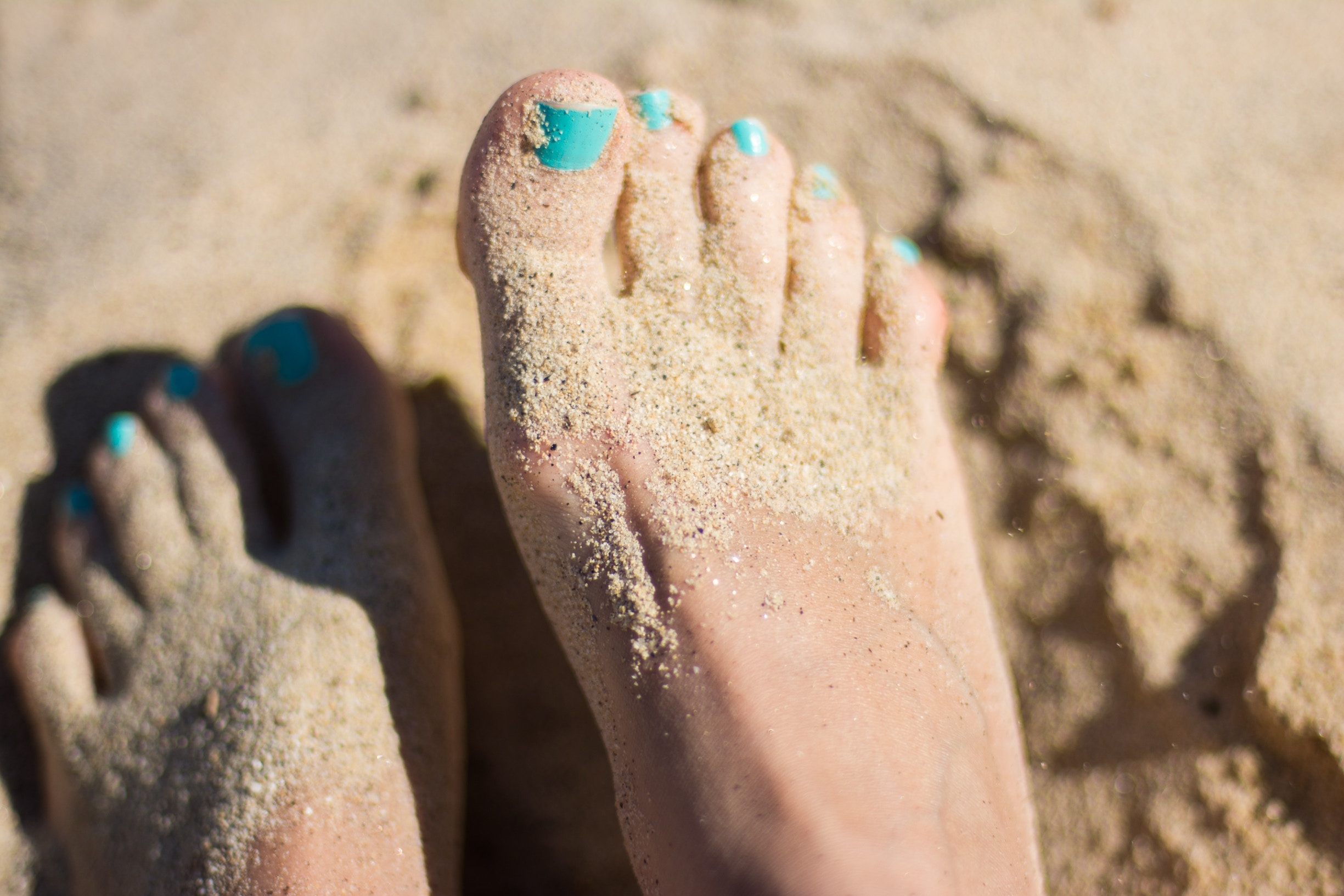 Toenails - Get them trimmed and keep your feet happy