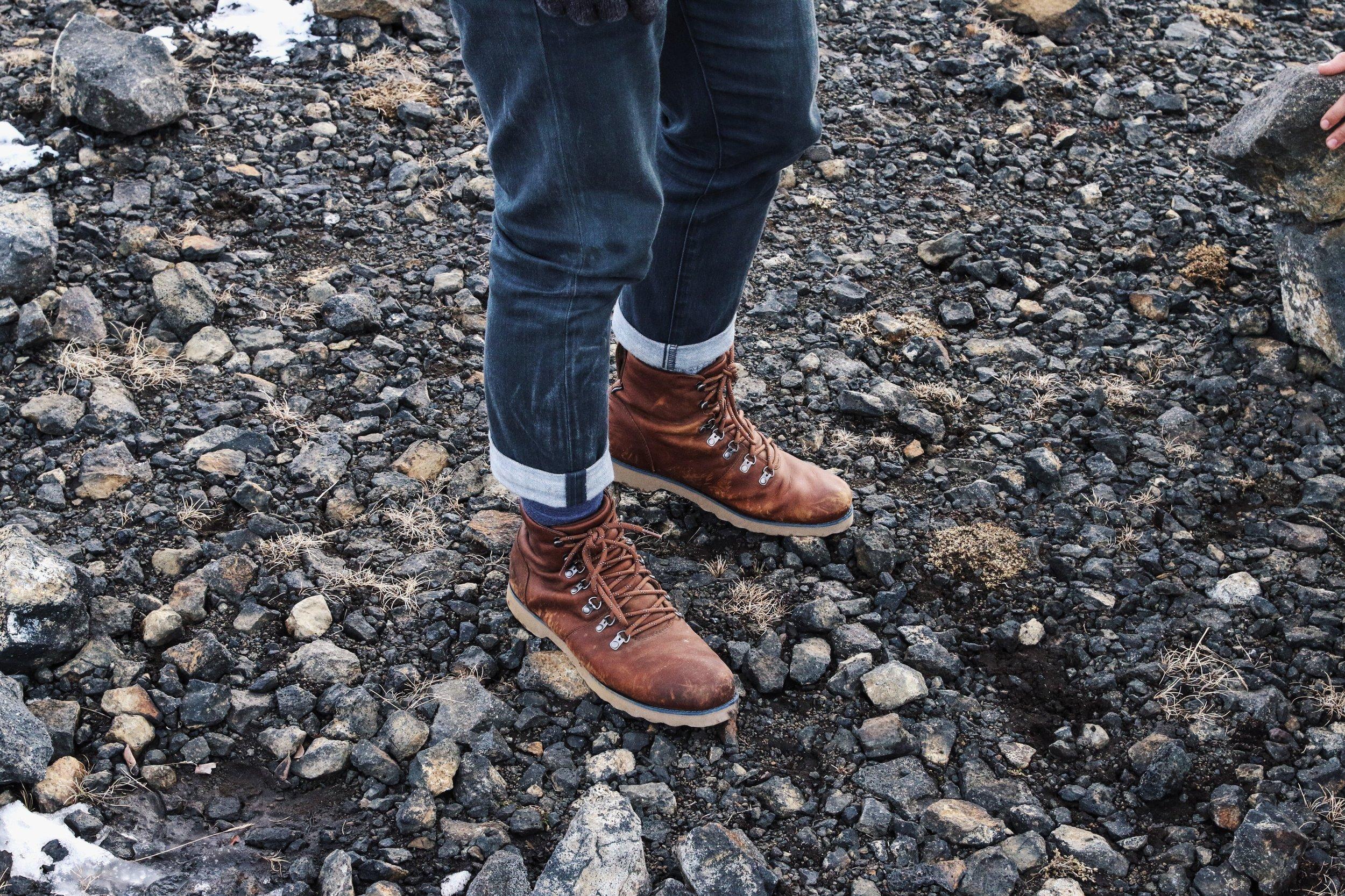Wearing boots? - Break them in!