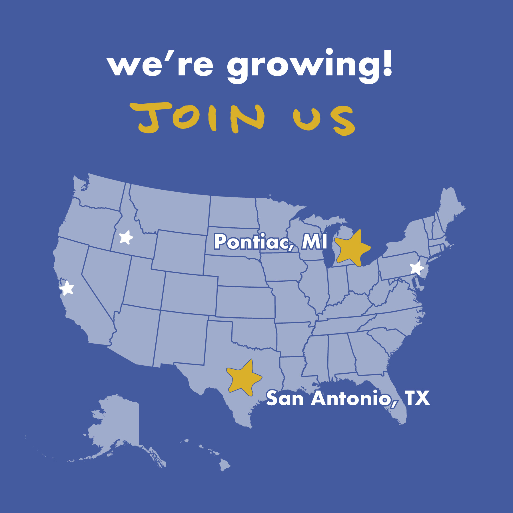 - Up Next: Serving San Antonio and PontiacWe are now accepting volunteer applications for our two newest cities - Pontiac MI, and San Antonio TX! Join us in our quest to build human centred streets - visit our website to learn more and apply for our volunteer training:www.nationalstreetservice.org/join