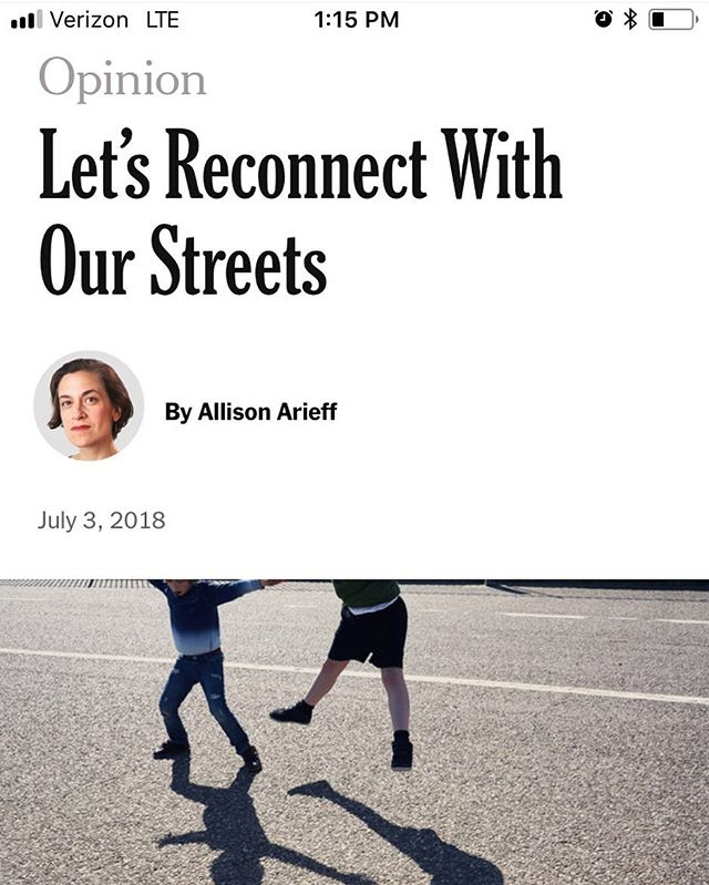 National Street Service in the New York Times! 💪🎉😱✊🚶🏽‍♀️🚶🏽‍♂️👀 #linkinbio!