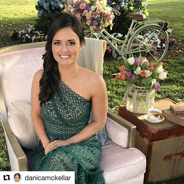 I had such a wonderful time doing @danicamckellar hair for the Spring Fever Preview Show for @HallmarkChannel. She is such a sweetheart, super smart and a talented actress. Thank you again for having me.❤️ Gorgeous makeup by the talented @makeupbyperalta Miss you @thehildalevierge ! Thank you for connecting us. #hairbyme #hair #hairstylist #celebrityhairstylist #grateful #loveher #socold
