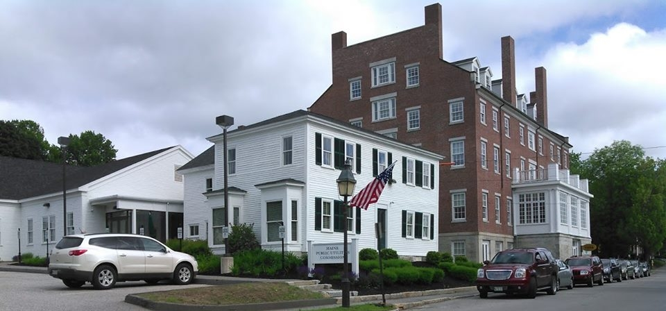 The Maine Public Utilities Commission, housed in the historic Hallowell House.