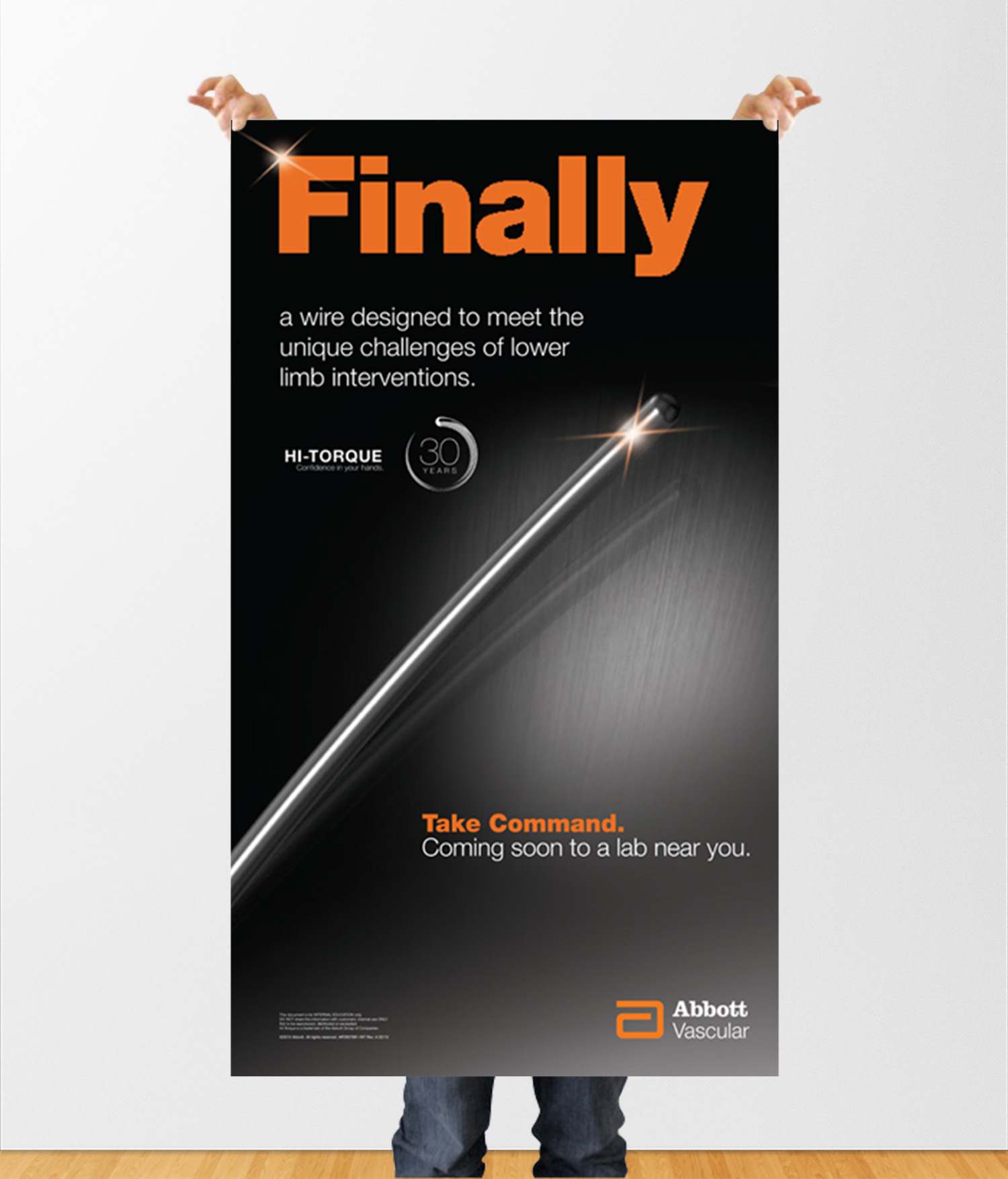 Abbott Guidewire Poster