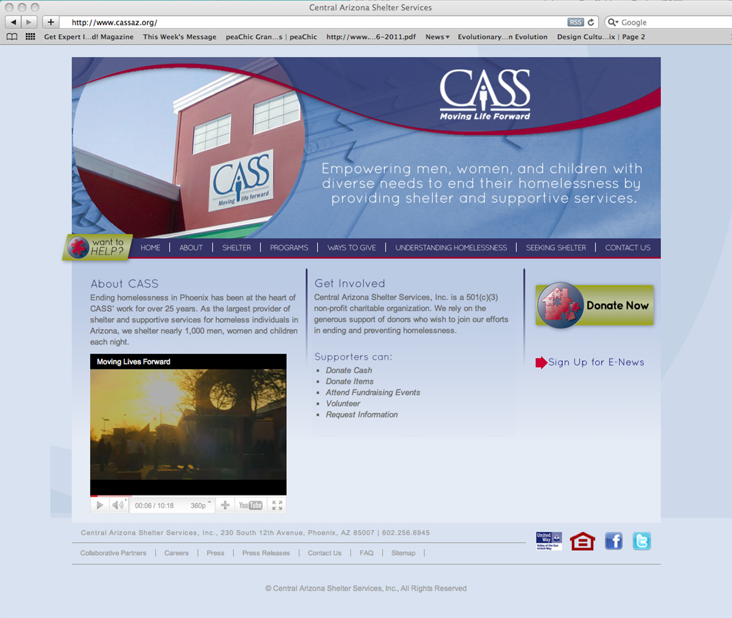 Final Home Page