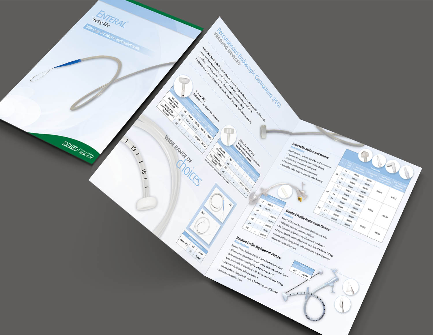 Bard Peripheral Vascular Enteral Feeding Tube Brochure