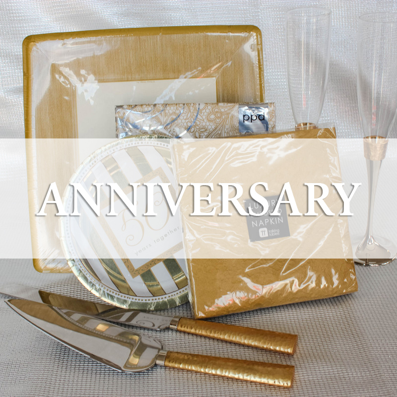 Anniversary party Supplies
