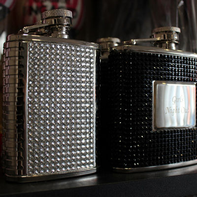 Rhinestone Flasks
