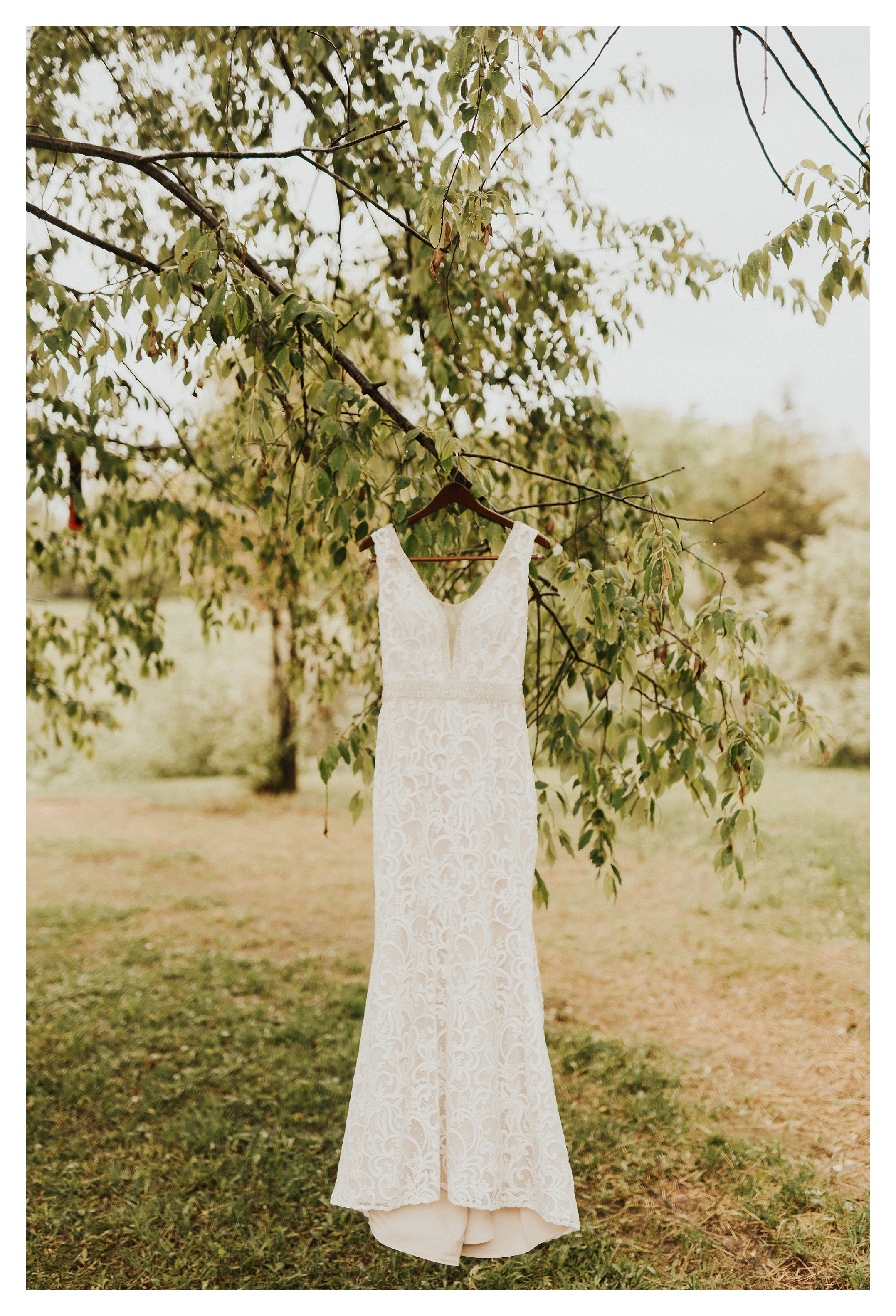 Intimate Michigan Backyard Wedding - Boho Michigan Wedding