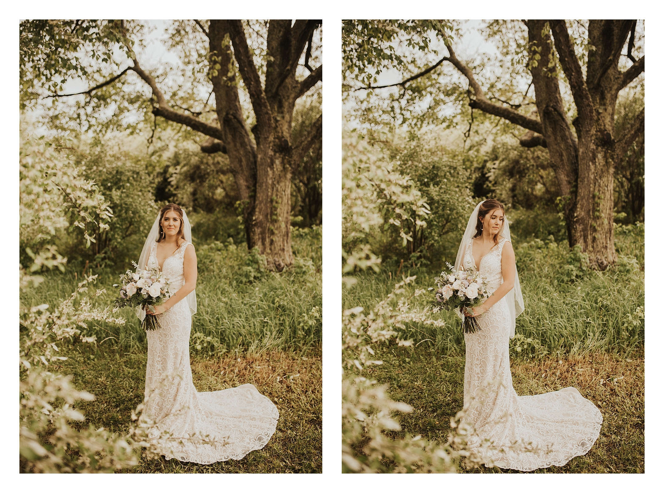 Intimate Michigan Backyard Wedding - Boho Michigan Wedding Photographer