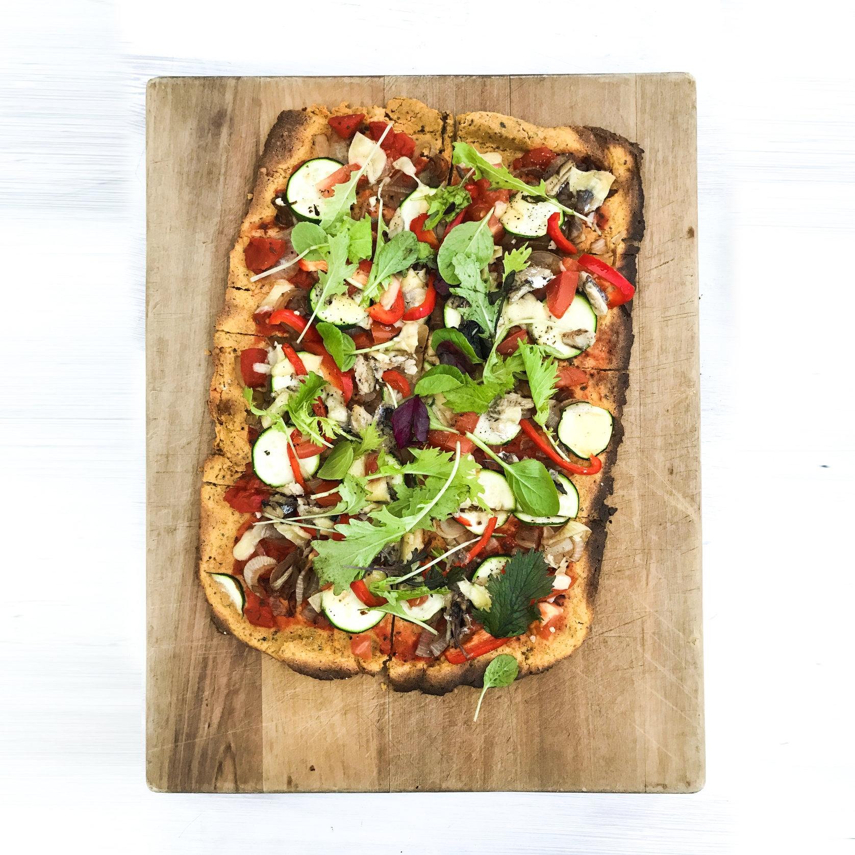 Sweet Potato Pizza Base Heaven - GF, Paleo, DF