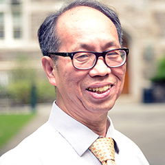 Dr. Frank Hsu   Clavius Distinguished Professor