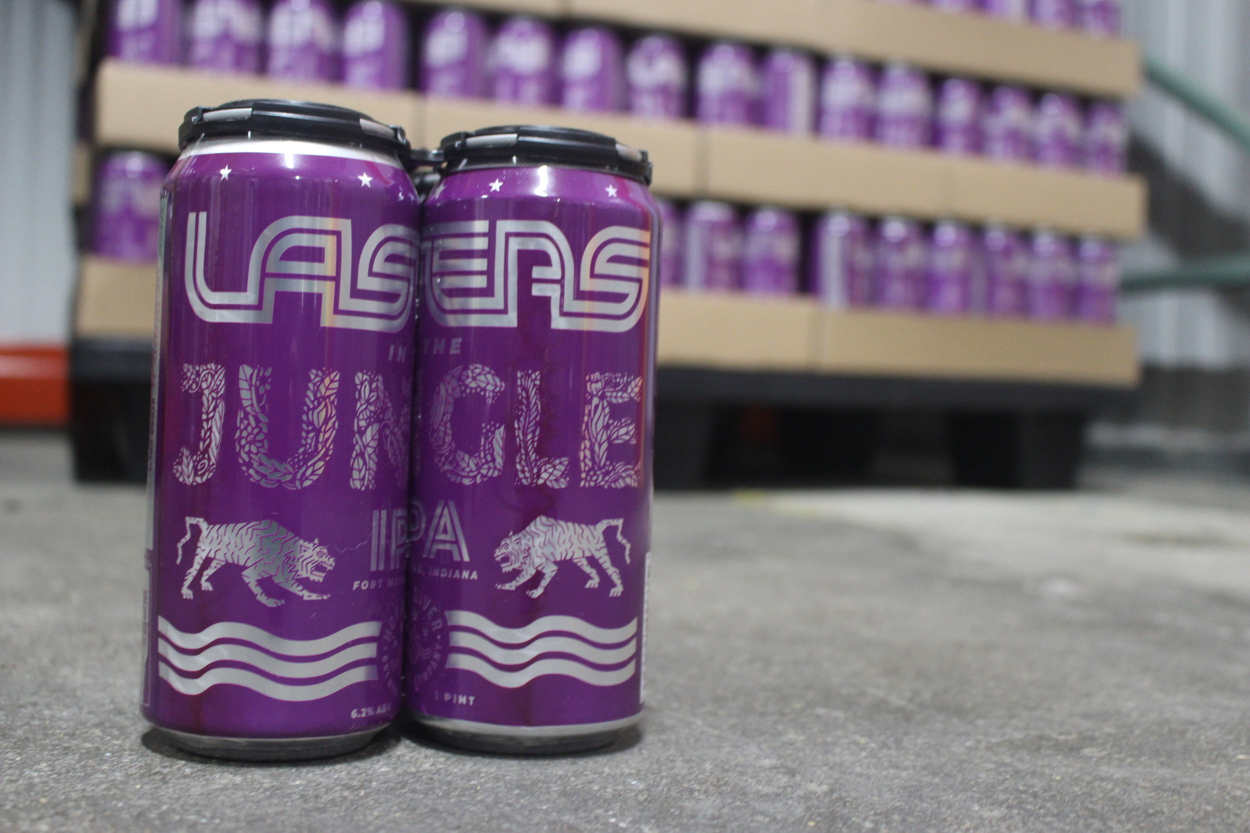 Canned Lasers in the Jungle | IPA