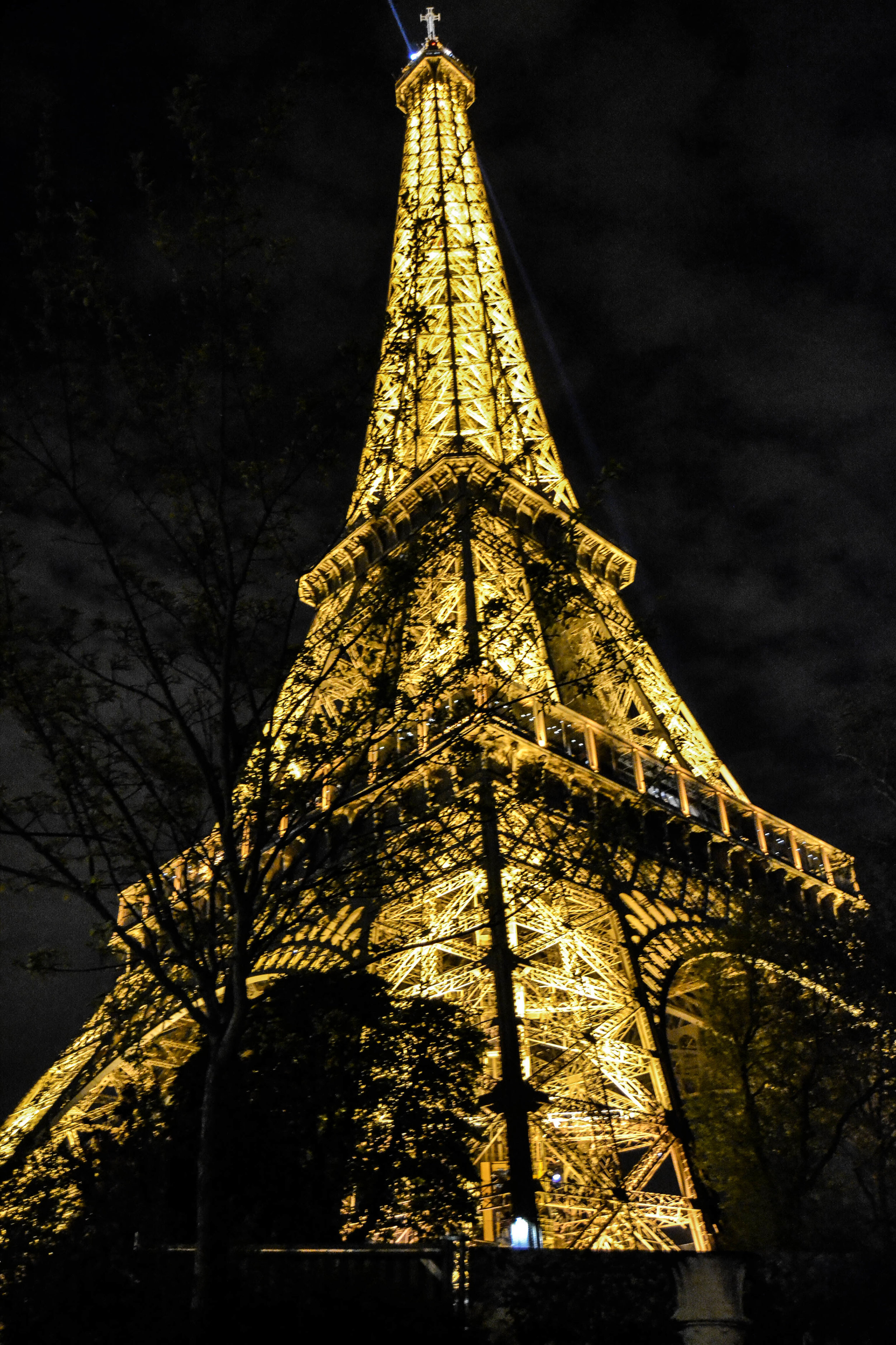 PARIS - EFFIEL TOWER AT NIGHT, 2015.