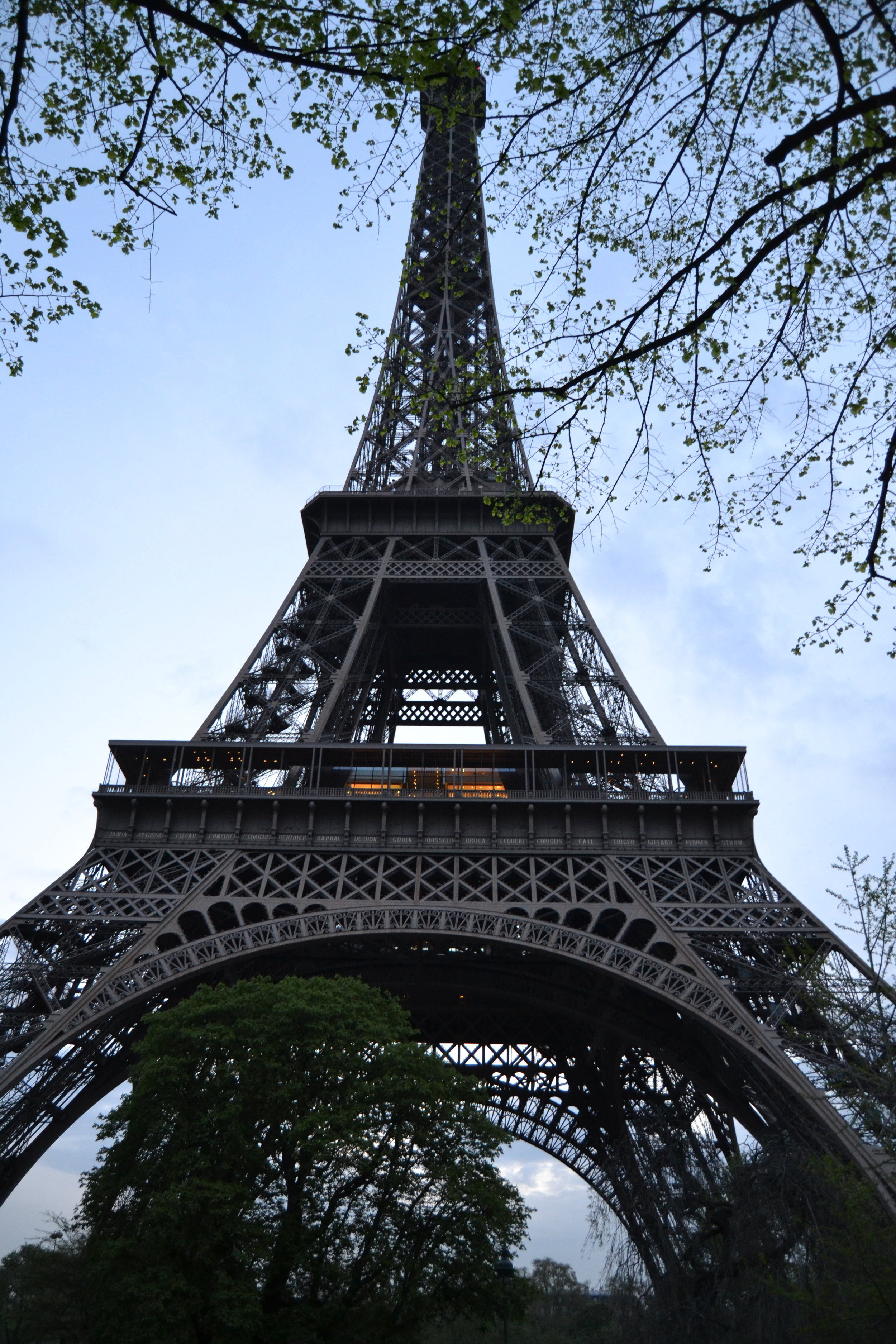 PARIS - EFFIEL TOWER AT DAY, 2015.