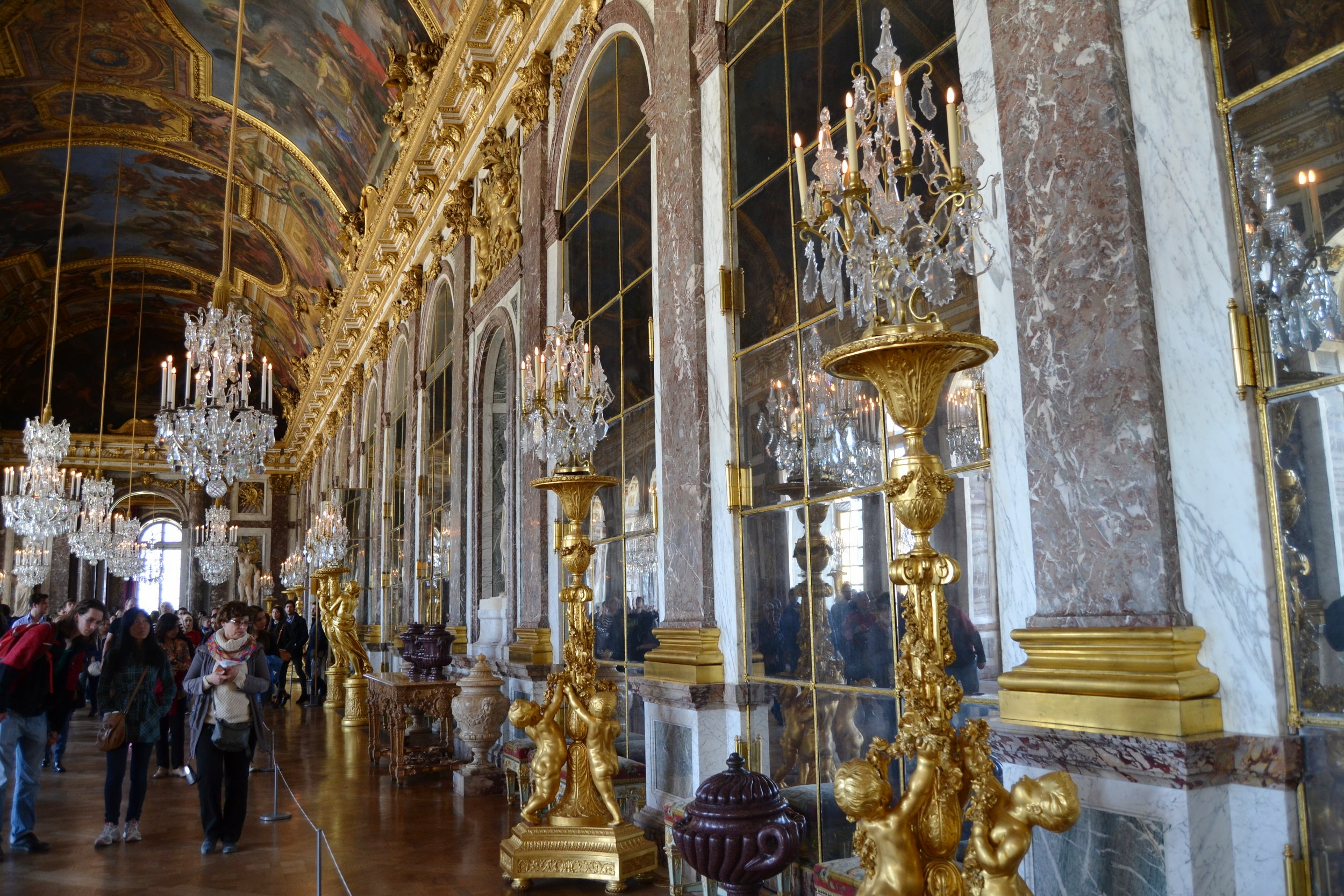 VERSAILLES - HALL OF MIRRORS, 2015.