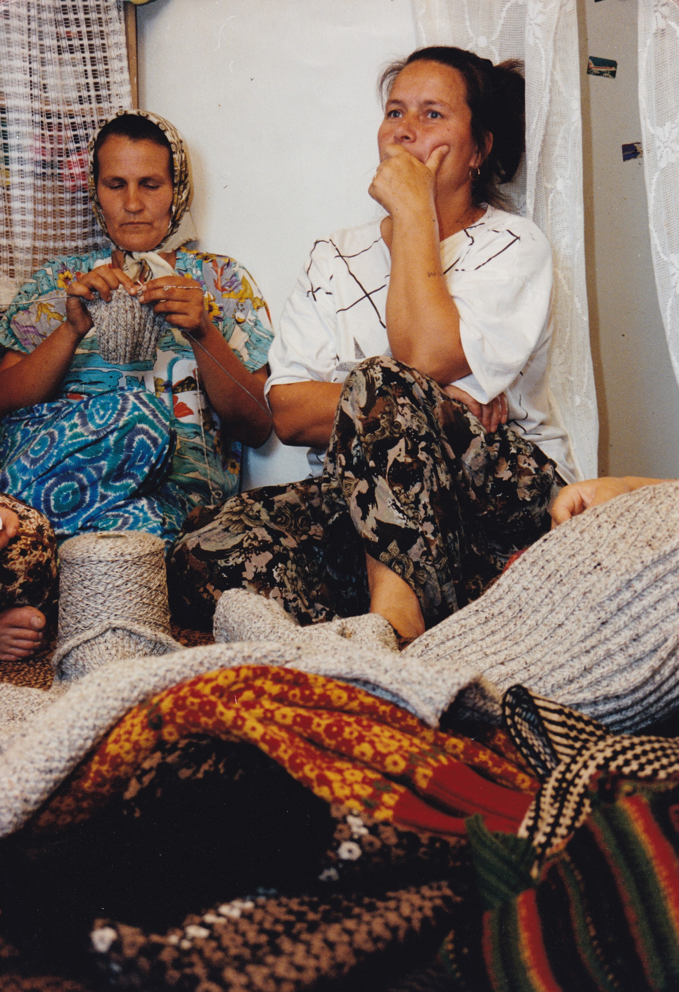 Knitting Together Nations collaboration in post-war Bosnia with SEED, UNESCO and World Bank