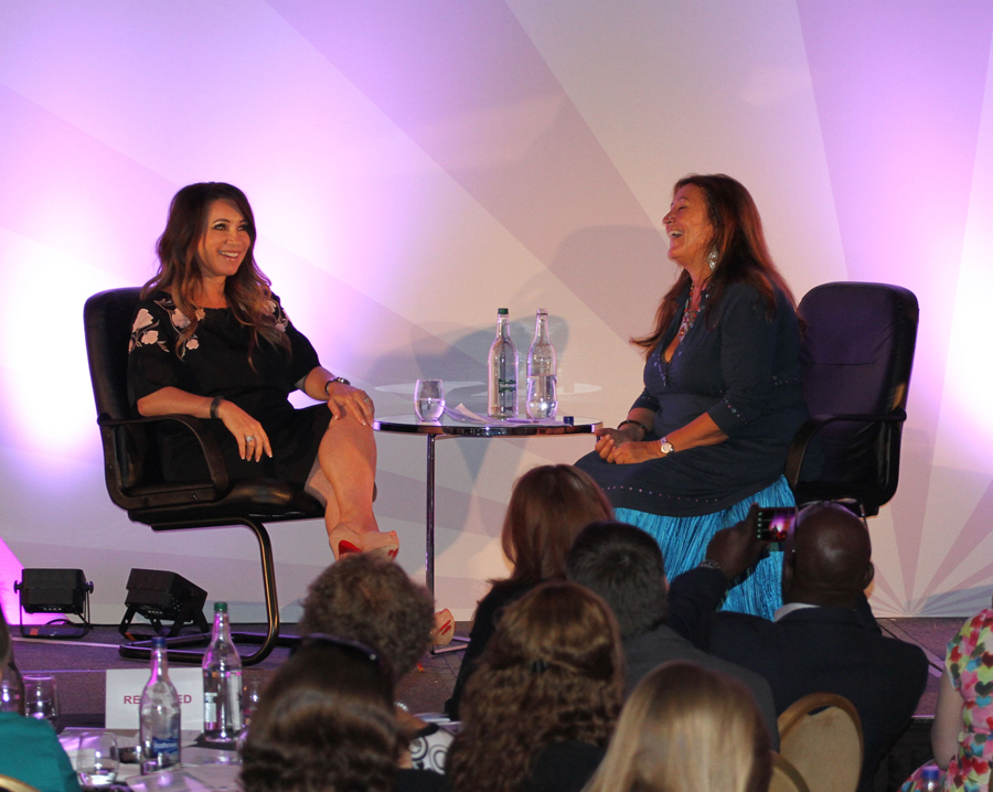 Lynne 'In Conversion' with Jacqueline Gold, CEO of Anne Summers at Women 1st