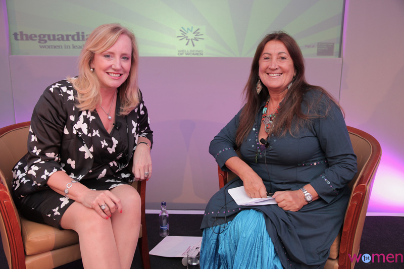 Lynne 'In Conversation' with Marion King, former UK President of Master Card and now at RBS