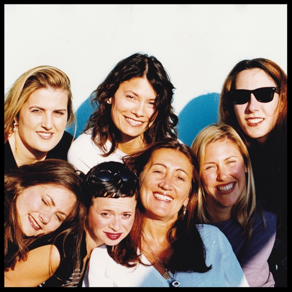 Lynne with her GlobalFusion team in Los Angeles in 2000