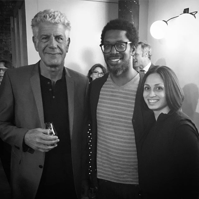 When Anthony Bourdain tells you that if he had another life, he would do what we do. #alisandifer #anthonybourdain #balvenie #americancraft #americancraftcouncil #rarecraftawards #detroit #brooklyn #newyork #handcraft #hardwoods #furniture #design #madeinamerica