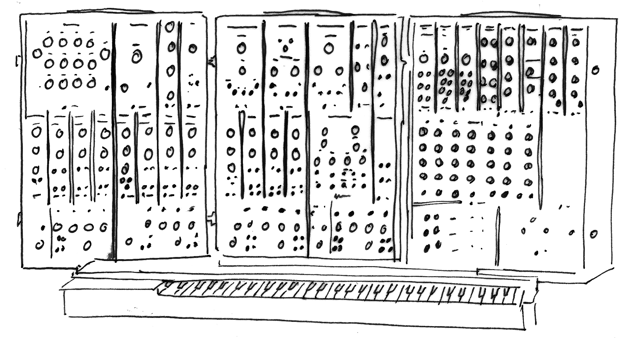 Moog Synthesizer 3P (1969)